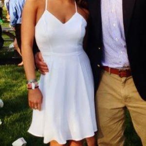 Express white dress